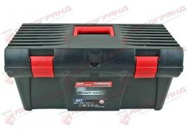 Ящик для инструмента 20D 525x256x246 замок пластик