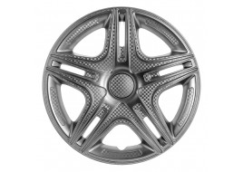 Колпак колесный Дакар (карбон) R15 (к-кт 4 шт) STAR