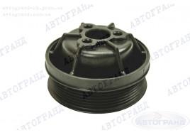 Шкив водяного насоса ГАЗ 3302 (ЗМЗ 406 дв) (пластмасс черный) Арзамас