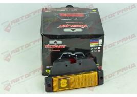 Фонарь боковой габаритный диод LED желтый с кронштейном M720306 LD128
