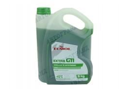 Антифриз G-11 -42°С зеленый 5л TEMOL Extra
