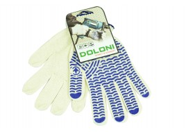 Перчатки трикотажные х/б 10-класс белые