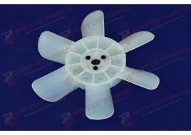 Крыльчатка радиатора 2121 (6-ти лопастная) (белая)