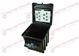 Ящик для инструмента ЗІП грузовой пластиковий 395X425X410 (сундук) 50L