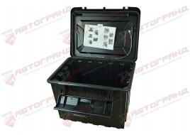 Ящик для инструмента ЗІП грузовой пластиковий 655X530X660 80L (сундук)