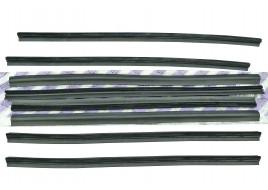 Уплотнитель стекол 2109, 2114, 2115 (бархотка) (к-кт 8 шт) ПТИМАШ