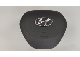 Подушка безопасности Hyundai Santa Fe 4 2.2 D руля (80100S1000)  (2018-нв) оригинал б/у