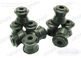 Сайлентблок реактивных тяг 2101-2107 резиновые (стандарт) (к-кт 10 шт) ПТИМАШ