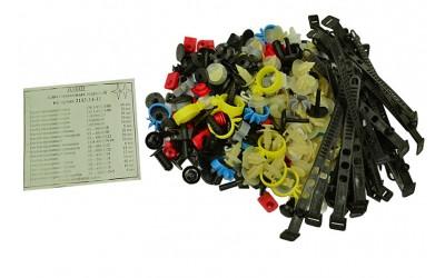 Ремкомплект кузова 2113, 2114, 2115 (хомуты, пистоны, скобы, держатели)