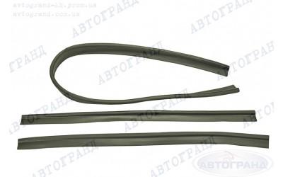 Уплотнитель заднего борта УАЗ-469 (к-кт 3 шт)1 длин. 2 короткие