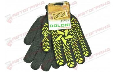 Перчатки трикотажные х/б 7-класс черные