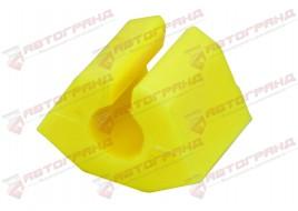 Втулка стабилизатора 1117, 1118, 1119 заднего полиуретан желтый