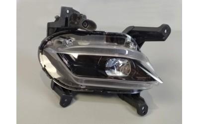 Фара противотуманная левая LED Hyundai Santa Fe 4 2.2 D с кроншт (92201-S1000) (2018-нв) ориг б/у