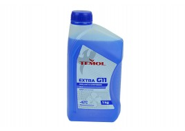 Антифриз G-11 -42°С синий 1л TEMOL Extra