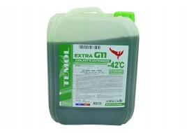 Антифриз G-11 -42°С зеленый10 л TEMOL Extra