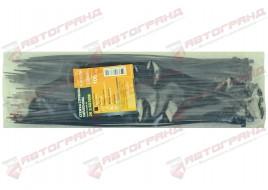 Хомут стяжной пластиковый L300MM H3.6MM черный