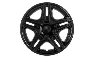 Колпак колесный Дакар черный (карбон) R13 (к-кт 4 шт) STAR