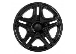 Колпак колесный Дакар черный (карбон) R15 (к-кт 4 шт) STAR