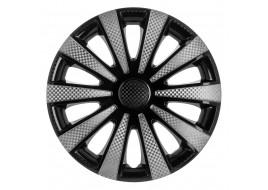 Колпак колесный Карат Super Black (карбон) R15 (к-кт 4 шт) STAR