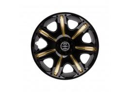 Колпак колесный Опус Super Black GOLD R13 (к-кт 4шт) STAR