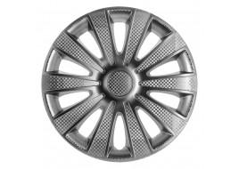 Колпак колесный Карат (карбон) R15 (к-кт 4 шт) STAR