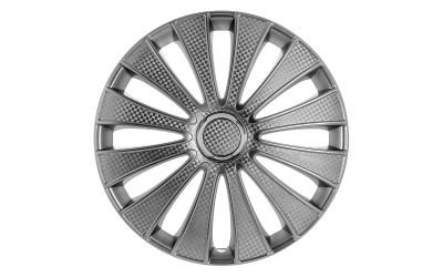 Колпак колесный GMK (карбон) R13 (к-кт 4 шт) STAR