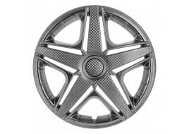 Колпак колесный NHL (карбон) R16 (к-кт 4 шт) STAR