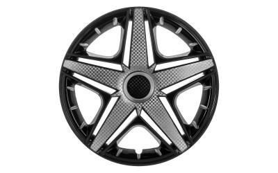 Колпак колесный NHL Super Black (карбон) R14 (к-кт 4 шт) STAR