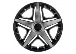 Колпак колесный NHL Super Black (карбон) R15 (к-кт 4шт) STAR