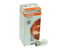 Лампа накаливания 24v P21/5W BAY15d двухконтактная OSRAM