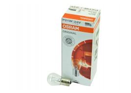 Лампа накаливания 24v P21W BA15s одноконтактная OSRAM