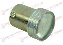 Лампа светодиодная P21W R5W BA15S 6SMD (линза) 24V (одноконтактная)