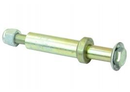 Болт амортизатора 2101-2107 заднего (втулка разрезная 20мм, 2 шайбы, гайка) (М12Х1,25Х140) БелЗАН