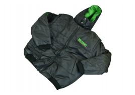 Куртка жилет с капюшоном DAF XL (новая, черная)