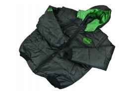 Куртка жилет с капюшоном VOLVO XXL (новая, черная)