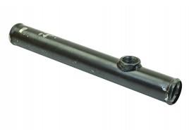 Трубка радиатора соединительная ГАЗ 31029 (ЗМЗ 406 дв) металл под датчик (длинный) 300mm
