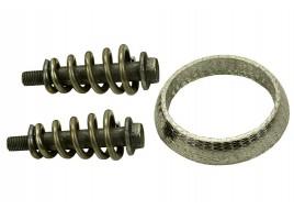 Ремкомплект катализатора 2108, 2109, 21099, 2110-2115 (1 кольцо, 2 болта, 2 пружины) Самара