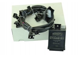 Эмулятор инжектора (форсунок) (на 4 цилиндра) (2-E4/E) (с разъемом BOSCH) STAG