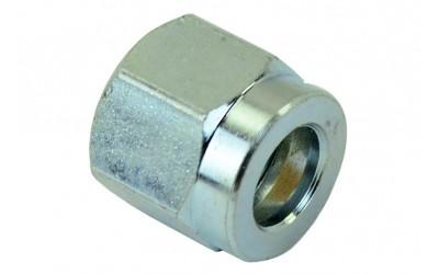 Гайка 8 мм M14*1 (метал) для ПВХ трубки (внутренняя резьба) ATIKER