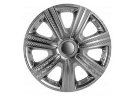 Колпак колесный DTM (карбон) R16 (к-кт 4 шт) STAR
