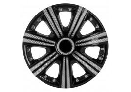 Колпак колесный DTM Super Black (карбон) R15 (к-кт 4 шт) STAR