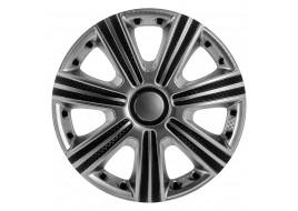 Колпак колесный DTM Super Silver (карбон) R14 (к-кт 4 шт) STAR