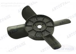 Крыльчатка радиатора 2101-2107, 2121 4-х лопастная черная (пластиковые втулки)