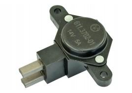 Регулятор напряжения 2110-2115, ГАЗ 3110, Соболь в сборе со щеточным узлом Энергомаш
