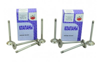 Клапана 2108, 2109, 21099, 2110 - 2115 (к-кт 8 шт) (дв 1,1-1,5) СТК