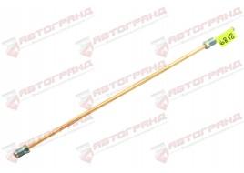 Трубка тормозная ГАЗ 3302, 3110, 24, 2410 (д.5) 40 см от сигнализатора к переднему тройнику (Медь)