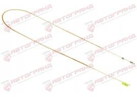 Трубка тормозная ГАЗ 3302, 3110, 24, 2410 (д.5)220 см от тройника к правому переднему тормозу (Медь)