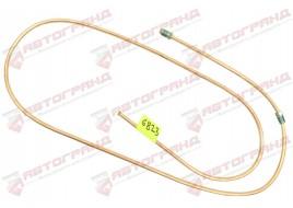 Трубка тормозная ГАЗ 3302, 3110, 24, 2410 (д.5)170 см от главного цилиндра к муфте (Медь)