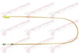 Трубка тормозная ГАЗ 3302, 3110, 24, 2410 (д.5)130 см от муфты к регулятору заднего тормоза (Медь)