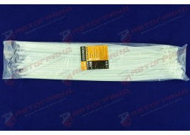 Хомут стяжной пластиковый L450MM H4.8MM белый